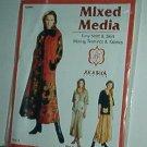"""Sewing Pattern Akaska AB0006 Mixed Media skirt and shirt  Sizes 30-48"""" bust"""
