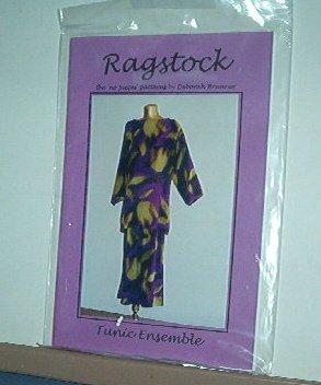 Sewing Pattern Ragstock Tunic Ensemble by Deborah Brunner