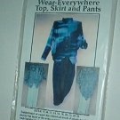 Sewing Pattern Wear-Everywhere top, skirt and pants Sizes 8 - 26