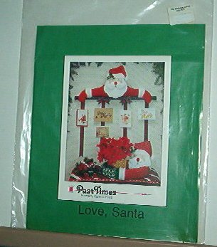 Sewing Pattern Christmas Love Santa..face & arms