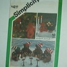 "Sewing Pattern Simplicity 6569 Christmas Bears 5.5 and 9.5"" by Marjorie Puckett"