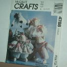 Sewing Pattern, McCall's 4788 Faye Wine Cats w clothes 16""