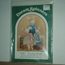 "Sewing Pattern Dream Spinners 120 Country Clover 24"" 20"" 13"" with clothes"