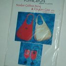 Sewing Pattern Kimura 402 Bamboo oddess Purse + Eyeglass Case