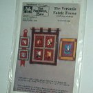 Sewing Pattern Quilted Frame fabric and wall handing Patwodk Place Nifty.
