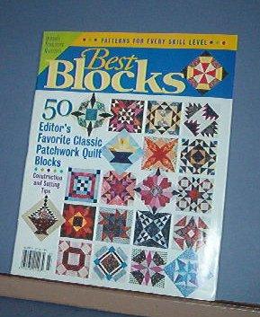Magazine - Quilter's Newsletter - Special issue - 50 BEST BLOCKS Patterns
