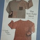 Sewing Pattern The Easy Sew Shirt by Taylor Made DEsigns TMB 143 Sized S-XXL Easy