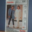 Sewing Pattern Burda Pants and Big Shirt / Jacket Size 18 - 28