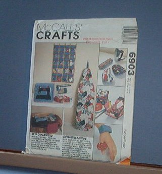 Sewing Pattern McCall's Crafts 6903 Everything for a sewing room as pictured