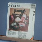 Sewing Pattern McCall's Crafts 7399 Everything for a sewing room as pictured