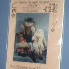 Sewing Pattern Christmas Santa Through the Year (Winter - Nov, Dec,Jan) Sweet