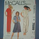 Sewing Pattern McCall's Evelyn de Jonge Pants Suit w/ culottes - Size 8 - 16