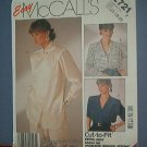 Sewing Pattern McCall's 2721 Three Blouses Size 16-20