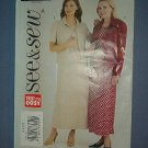Sewing Pattern Butterick 3937 Dress with jacket Size 8 -12 Pretty
