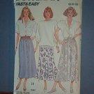 Sewing Pattern Butterick 4756 - 3 skirts - Size 8 - 12