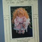 "Sewing Pattern Sitting Pretty Peny 20"" wood & cloth doll form Sharin a little bit #113"