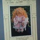 "Sewing Pattern Sitting Pretty Peny 20"" wood & cloth doll form Sharin a little bit #113"