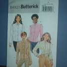 Sewing Pattern:  B4921 Butterick Pretty Blouse Size 16 - 22