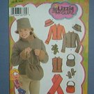 Simplicity Sewing  Pattern 4818 Jacket, hat, gloves, scarf, purse, Lizzie McGuire, Sizes 7-16