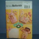 "Sewing Pattern Butterick, B5304 Cabbago Patch Kids bag, blanket, jams, Size 11"" & 14"""