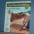 Magazine - FINE HOMEBUILDING Taunton's No.181 September 2006