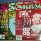 Magazines - Sunset - Feb. April & Dec, 2009 and Jan 2004 - 4 copies