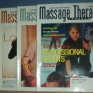 Magazines - Massage Therapy Journal - Spring-Winter, 2002, 4 issues