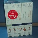 Exercise - Yoga - Living Yoga - 5 tapes: Stress Relief, Upper and Lower Body,  Abs and Life. New