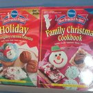 Cooking - Pillsbury Holiday and Family Christmas Cookbook, 2001 and 2002