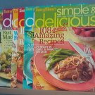 Cooking - Taste of Home Simple & Delicious May, July 2006; Jan Mar May 2007; May 2008