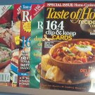 Cooking - Taste of Home Recipe Card Collection, 2008, 2006,2005,2003 & 2000