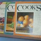 Cooking - Cooks Illustrated Summer 2007 Griling and June 2008 and a sampler