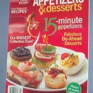 Cooking - Betty Crocker Appetizers & desserts January 2006