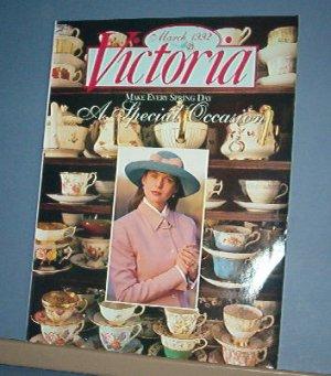 Magazine - VICTORIA - Like New  - March 1992