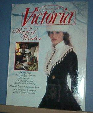 Magazine - VICTORIA - Like New  - Januar 1991