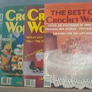 Crochet Pattern Magazine  - Crochet World - The Best Of, Dec 1985, Apr 1986 & Feb 1989