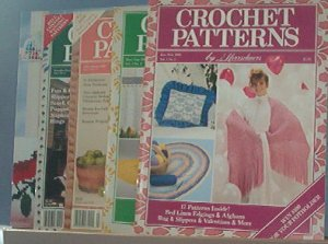 Crochet Pattern Magazine  - Crochet Patterns - Jan/Feb,Mar/Apr,July/Aug,Nov/dec, 1989 Feb 1992