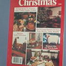 Crochet Pattern Magazine  - Early American Life Christmas 1985 -