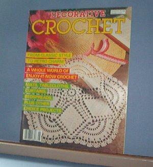 Crochet Pattern Magazine  - Decorative Crochet No. 6