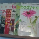 Magazine - body + soul, Feb & May 2010, Nov 2009, June, July/Aug, Sept & Nov. 2008