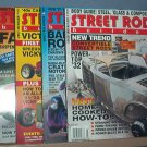 Magazine - Street Rod Builder - May, Aug, Sept and Dec. 2003, 4 issues