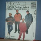 Sewing Pattern McCall's 7409 Unlined jacket, to, pull on pants and headband. Sized 8-18