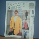 Sewing Pattern McCall's  9565  Lined jacket or vest plus pullon pants size 14, 16 & 18