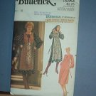 Sewing Pattern: Butterick 5582 Peasant Dress and Scarf Size 10