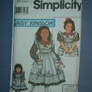 Simplicity Sewing  Pattern Child 5439 Pretty Dress Plus Doll Dress (18 inches) Size 3-6