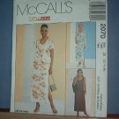 Sewing Pattern McCall's 2070 Lined dress and jacket,