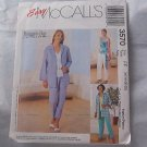 Sewing Pattern McCall's 3570 Short, top, sash, pants and capri pants  Size 16 - 22