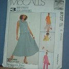 Sewing Pattern McCall's 8737 Tops (two lengths), Pants and skirt.. Size 14 16 18