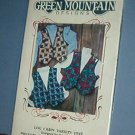 Sewing Pattern Green Mountain Designs Log Cabin Quilt vest Size 6 through 20
