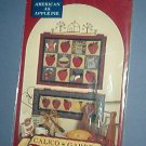 Sewing Pattern American as Apple Pie by Calico Garden 25 X 19.5 and 27 X 10